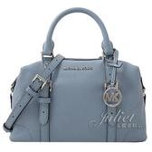 茱麗葉精品【全新現貨】MICHAEL KORS GINGER 兩用波士頓包造型包.粉藍 小款(專櫃款)