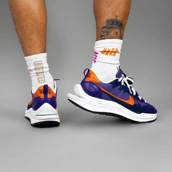 IMPACT Sacai x Nike Vaporwaffle 藍紫 卡其 DD1875-200 DD1875-500