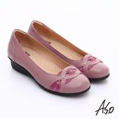 A.S.O 舒適通勤 水鑽奢華通勤鞋  桃粉紅