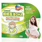 孕哺兒 媽媽藻油 DHA 軟膠囊 60粒 (新上市)