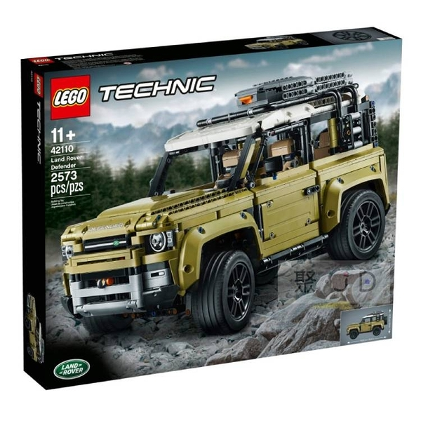 42110【LEGO樂高積木】科技 Technic 系列 - Land Rover Defender
