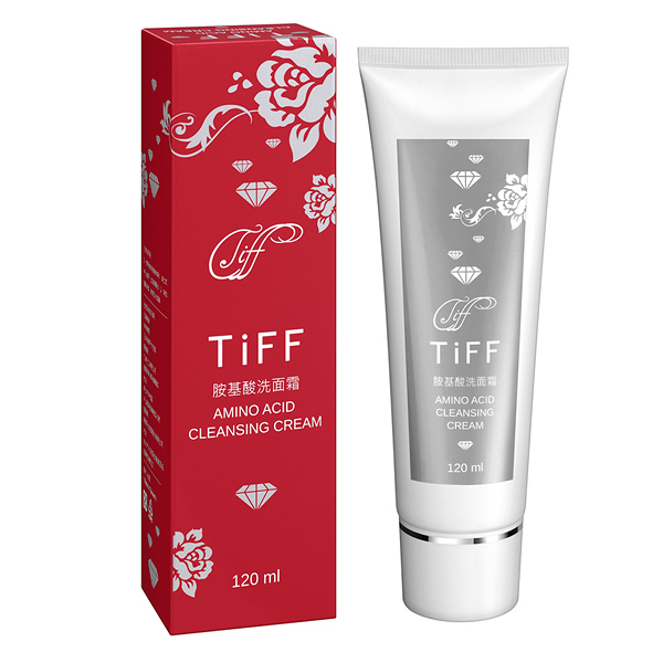 TiFF 提芙 胺基酸洗面霜(120ml/瓶)x1【滿三千贈凍齡時空精華油試用品x1 送完為止!】