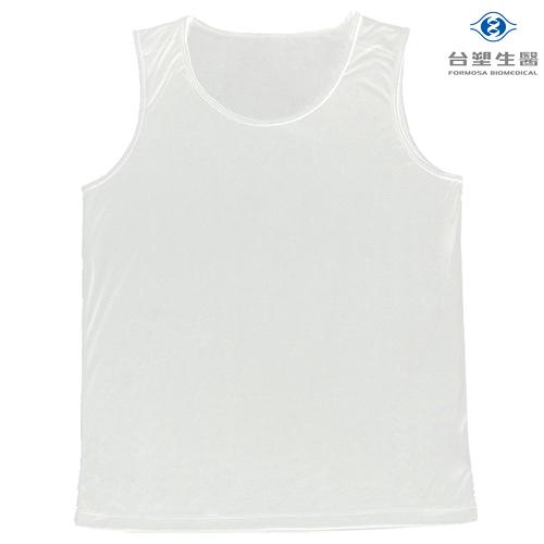 《台塑生醫》Dr's Formula冰晶玉科技涼感衣-男用背心款(白)一件入