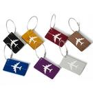 [拉拉百貨]飛機金屬行李牌 鋁合金 行李牌 吊牌 飛機托運吊卡 身分牌 造型 防丟失
