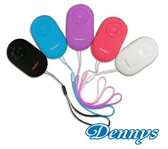 新竹【超人3C】Dennys 藍牙隨身音響 白/藍/黑 BL-07 超迷你蛋型設計方便攜帶