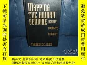 二手書博民逛書店Mapping罕見the Human Genome: Reality, Morality, and Deity-繪