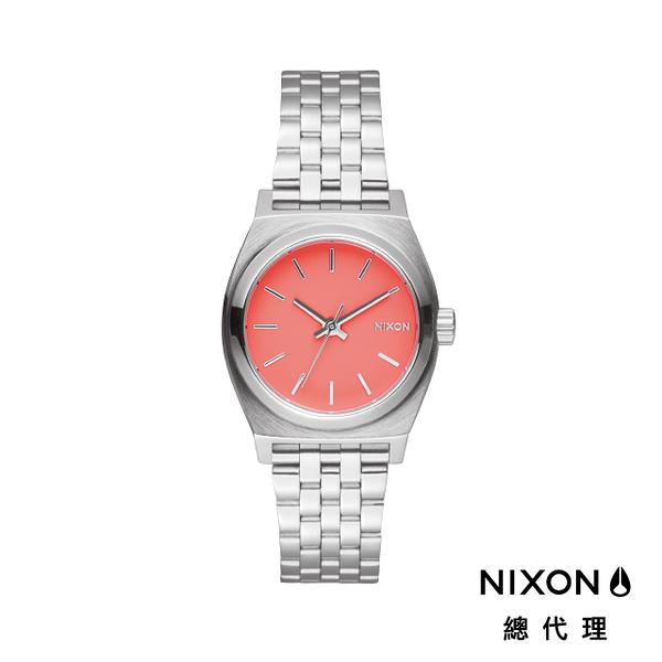 【官方旗艦店】NIXON SMALL TIME TELLER 極簡迷你錶款 能量橘 潮人裝備 潮人態度 禮物首選