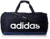 Adidas深藍色經典大容量健身包-NO.FM6744