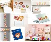 壁貼【橘果設計】娃娃 DIY組合壁貼/牆貼/壁紙/客廳臥室浴室幼稚園室內設計裝潢