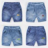 男童牛仔短褲熱褲中褲 夏裝韓版新款童裝 寶寶兒童褲子U8587 沸點奇跡