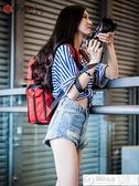攝影包 銳瑪數碼相機包攝影包單反雙肩包休閒背包便攜佳能尼康索尼微單包 城市科技