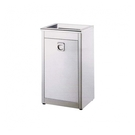 單分類不鏽鋼垃圾桶 清潔箱 開放式 (中) / 台 ST1-100A
