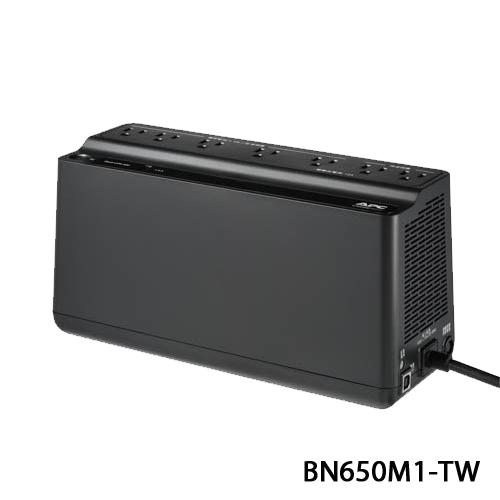 APC 家庭網路用 UPS BN650M1-TW 離線式 不斷電系統 650VA/360W