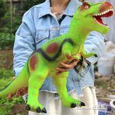 侏羅紀超大號仿真軟膠恐龍玩具霸王龍模型兒童禮品3-6歲男孩玩具igo 〖korea時尚記〗