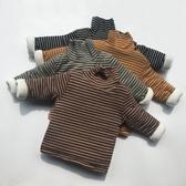 男女童夾棉打底衣冬季兒童加厚上衣寶寶長袖高領保暖T恤上衣促銷好物
