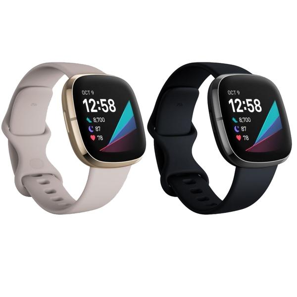 (送Fitbit帆布袋 錶帶可加購 ) Fitbit Sense 進階健康智慧手錶 運動手錶 GPS 血氧偵測 心率追蹤 公司貨