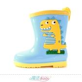 兒童雨鞋 附鞋墊童趣俏皮雨鞋 魔法Baby