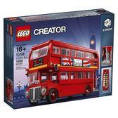 【LEGO樂高】倫敦雙層巴士 CREATOR 10258