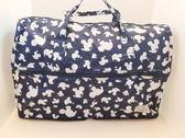 HAPI+TAS mickey 米奇摺疊收納袋/旅行袋-H0002(小) MK15深藍米奇