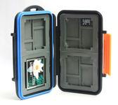 又敗家@橘JJC Micro SD.XD.CF記憶卡儲存盒 記憶卡收納盒記憶卡保存盒記憶卡保護盒SD記憶卡盒