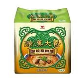 統一滿漢大餐蔥燒豬肉麵x3入【愛買】