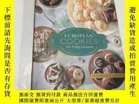 二手書博民逛書店european罕見cookies for every occasion (16开精装)Y3950 见图 见图