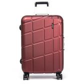 eminent萬國通路-28吋Probeetle系列鋁框行李箱亮銀河紅