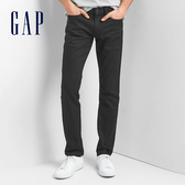 Gap男裝 復古彈力緊身水洗男士牛仔褲 棉質直筒褲長褲男 941822-黑色