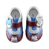 【愛的世界】狐狸伙伴寶寶鞋/學步鞋-台灣製- ★童鞋童襪