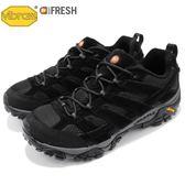 Merrell 戶外鞋 Moab 2 Vent 黑 灰 透氣 越野 休閒鞋 運動鞋 男鞋【PUMP306】 ML06017