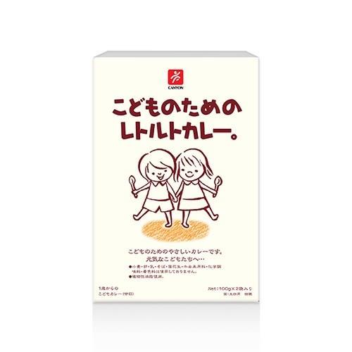 【美佐子MISAKO】日韓食材系列-CANYON 兒童咖哩調理包 100g*2袋