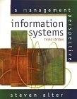 二手書博民逛書店 《Information Systems: A Management Perspective, 3/e》 R2Y ISBN:0201521083│StevenAlter