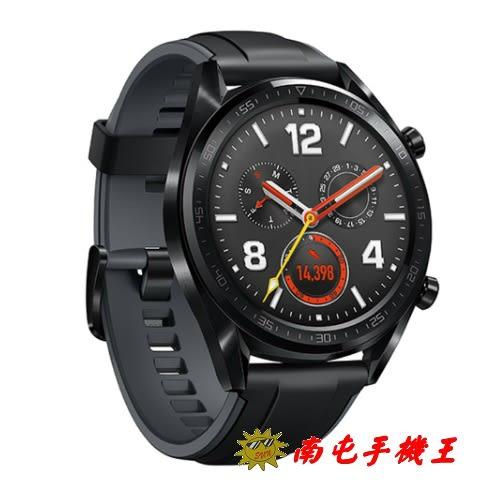 華為 Huawei Watch GT 黑色(曜石黑矽膠錶帶)