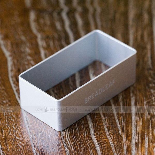 BreadLeaf 鳳梨酥模具 加厚長方形模具 陽極鋁合金餅乾模 慕斯圈 鳳梨酥烤模 切模