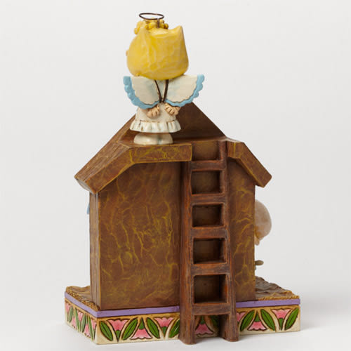 《Enesco精品雕塑》SNOOPY與好朋友聖誕夜話劇塑像-The Christmas Play★funbox生活用品★_EN69844