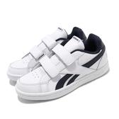 Reebok 休閒鞋 Royal Prime ALT 白 深藍 童鞋 中童鞋 運動鞋 【PUMP306】 DV9306