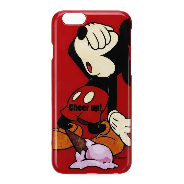 日本正版迪士尼 Disney iPhone6/6S 塗鴉系列硬殼 保護殼 保護套 米奇 059