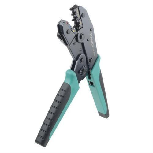 Pro sKit 寶工 CP-3005F 快拆口模棘輪壓著鉗  (無口模)