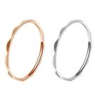 316L醫療鋼 極細稜格紋菱形 戒指指節...