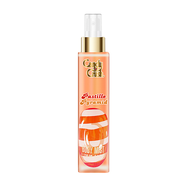 【即期品-2021.09】Candy Crush Pastille Pyramid 香氛噴霧 150ml (橘色)