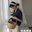 春季韓版女裝復古氣質西裝領上衣學生女寬鬆ins網紅短袖襯衫外套 自由角落