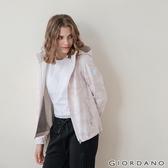 【GIORDANO】女裝Softshell三合一高機能炫彩刺繡連帽外套-84 粉紅迷彩