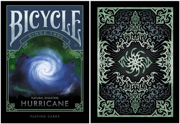 【USPCC 撲克】BICYCLE ND hurricane PLAYING CARDS natural disaste