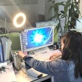 手機直播補光燈環形美光燈主播美顏電腦房間室內小型打光燈網 凱斯盾