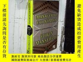二手書博民逛書店Managerial罕見Economics: Theory Ap