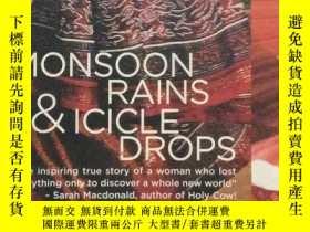 二手書博民逛書店Monsoon罕見Rains and Icicle Drops1
