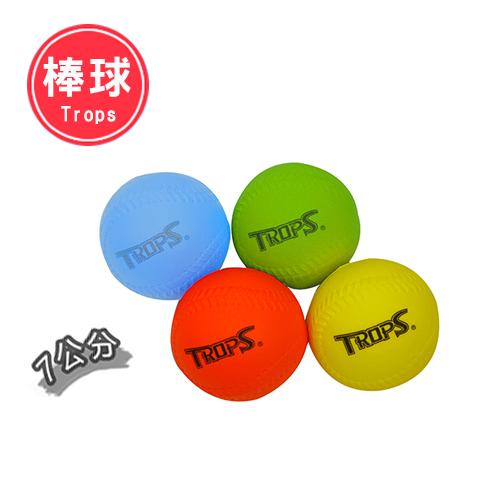 發泡安全棒球7cm(4入)