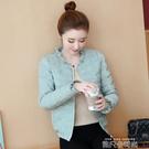 冬季韓版修身輕薄棉衣女短款羽絨棉服女士冬裝顯瘦時尚小棉襖外套 依凡卡時尚