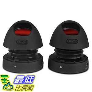 [106美國直購] X-Mini MAX v1.1 Portable Capsule Speaker Exceptional Stereo Sound Black Red 迷你揚聲器