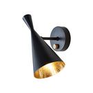 英國 Tom Dixon Beat Black Wall Light Series 黑澤系列 金屬 壁燈